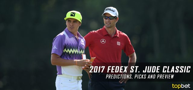 2017 FedEx St. Jude Classic Predictions, Picks, Odds and PGA Betting Preview