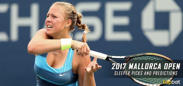 2017 WTA Mallorca Open Women's Singles Sleeper Picks and Predictions