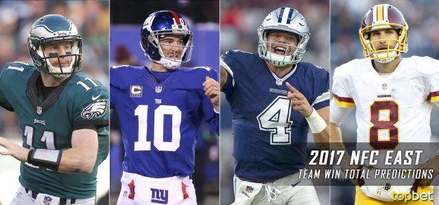 NFC East Win Total Predictions: 2017-18 NFL Season