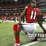2017 NFL Fantasy Football Wide Receiver Point Projections