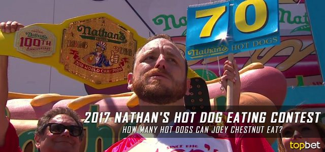 How Many Hot Dogs Can Joey Chestnut Eat?