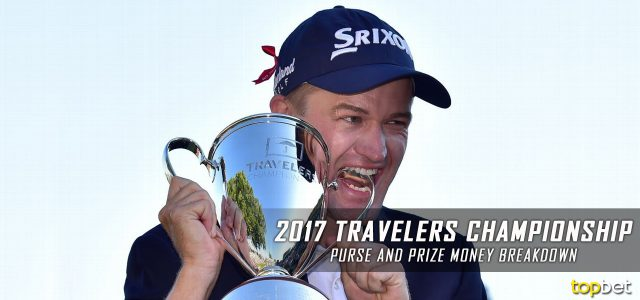 2017 Travelers Championship Purse and Prize Money Breakdown