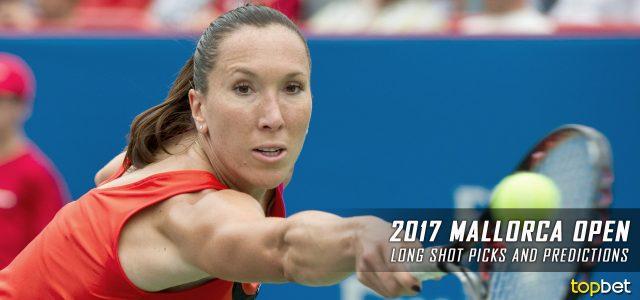 2017 WTA Mallorca Open Women's Singles Long Shots and Best Value Predictions