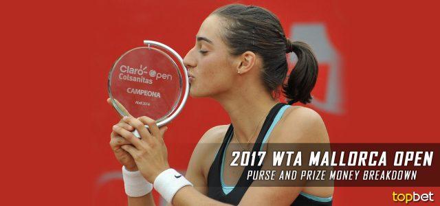 2017 WTA Mallorca Open Purse and Prize Money Breakdown