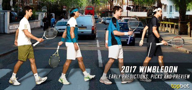 Early 2017 Wimbledon Predictions, Picks and Preview