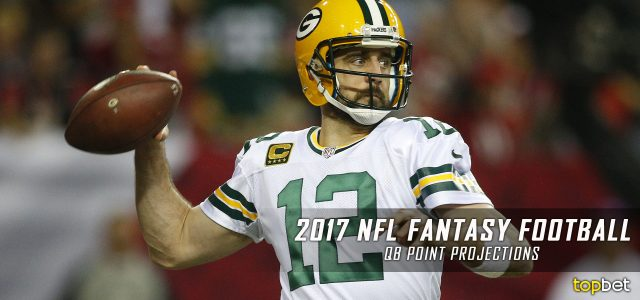 2017 NFL Fantasy Football Quarterback Point Projections