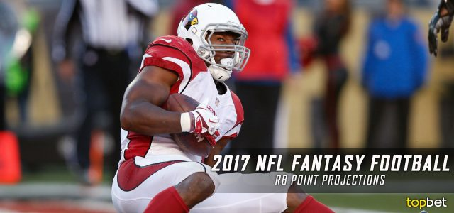 2017 NFL Fantasy Football Running Back Point Projections