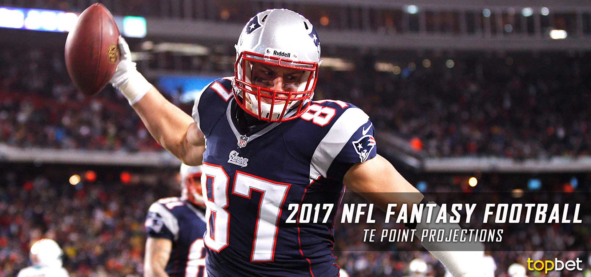 Fantasy Football TE Point Projections - 2017-18 NFL Season