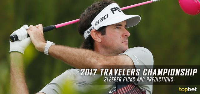 2017 Travelers Championship Sleeper Picks, Predictions, Odds, and PGA Golf Betting Preview