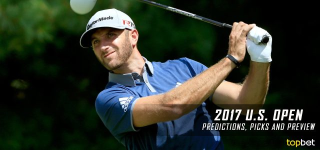 2017 U.S. Open of Golf Predictions, Picks, Odds and Betting Preview