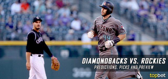 Arizona Diamondbacks vs. Colorado Rockies Predictions, Picks and MLB Preview – June 22, 2017