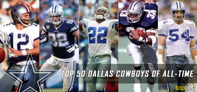 Top 50 Dallas Cowboys of All Time