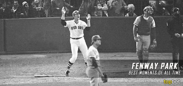 Top 10 Fenway Park Moments of All Time