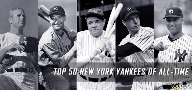 Top 50 New York Yankees of All Time