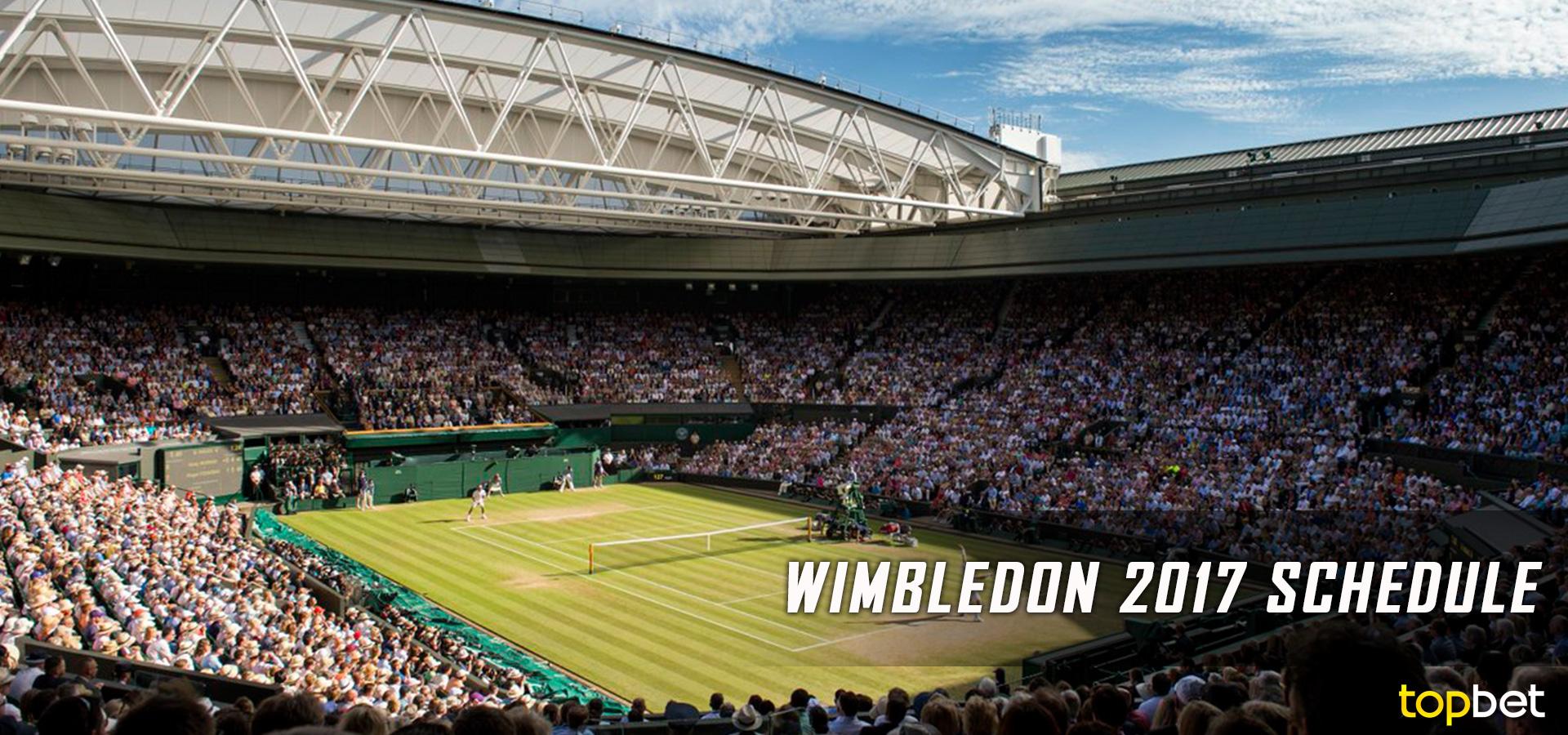 Wimbledon schedule