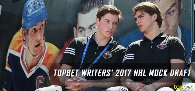 2017 NHL Writer's Mock Draft Predictions
