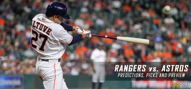 Texas Rangers vs. Houston Astros Predictions, Picks and MLB Preview – June 14, 2017