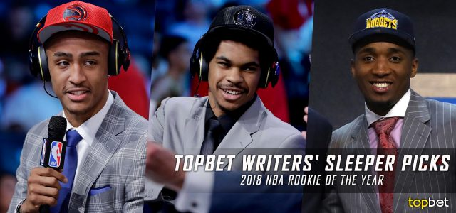 Writers' Sleeper Picks for 2018 NBA Rookie of the Year