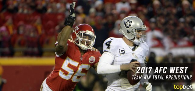 AFC West Win Total Predictions: 2017-18 NFL Season