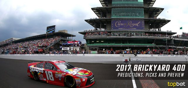 Brickyard 400 Predictions, Picks, Odds and Betting Preview: 2017 NASCAR Monster Energy Cup Series