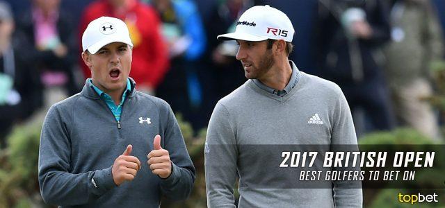 2017 PGA British Open – Best Golfers to Bet On