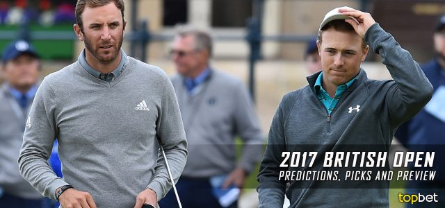 2017 British Open Championship Predictions, Odds, Picks and Preview