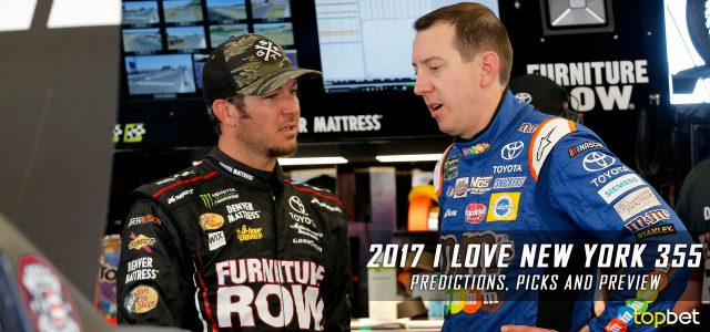 I Love New York 355 Predictions, Picks, Odds and Betting Preview: 2017 NASCAR Monster Energy Cup Series