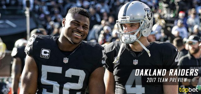 Oakland Raiders 2017-18 NFL Team Preview