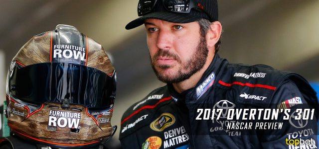 Overton's 301 Predictions, Picks, Odds and Betting Preview: 2017 NASCAR Monster Energy Cup Series