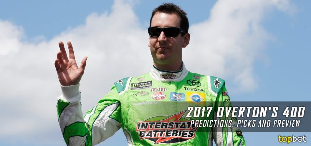 Overton's 400 Predictions, Picks, Odds and Betting Preview: 2017 NASCAR Monster Energy Cup Series