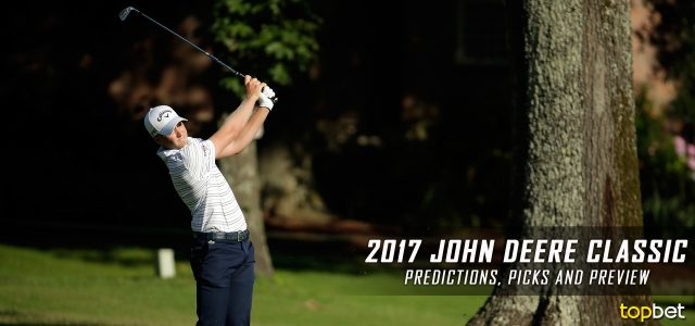 2017 John Deere Classic Predictions, Picks, Odds and PGA Betting Preview