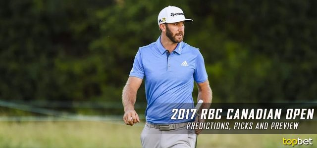 2017 RBC Canadian Open Predictions, Picks, Odds and PGA Betting Preview