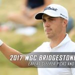 2017 WGC Bridgestone Invitational Expert Sleeper Picks and Predictions