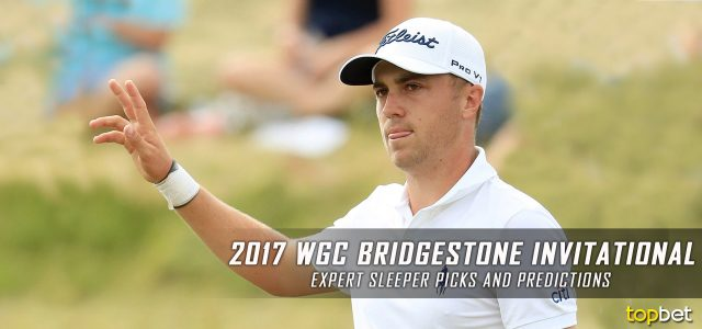 2017 WGC Bridgestone Invitational Expert Sleeper Picks and Predictions