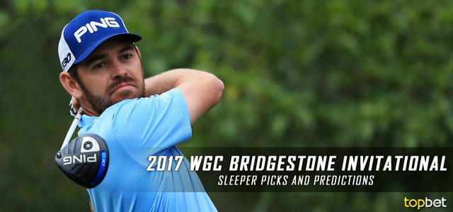 2017 WGC Bridgestone Invitational Sleeper Picks, Predictions, Odds, and PGA Golf Betting Preview