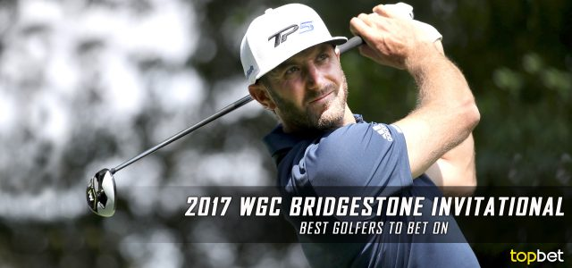 2017 WGC Bridgestone Invitational – Best Players to Bet On