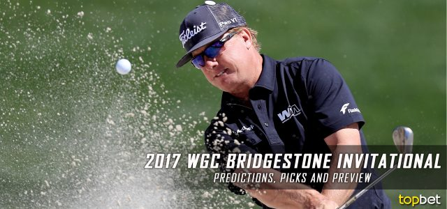 World Golf Championships – 2017 Bridgestone Invitational Predictions, Odds, Picks and Preview
