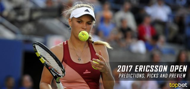 2017 WTA Ericsson Open Predictions, Picks, Odds and Betting Preview