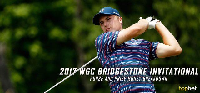 2017 WGC Bridgestone Invitational Purse and Prize Money Breakdown