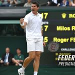 Roger Federer vs. Milos Raonic Predictions, Odds, Picks, and Tennis Betting Preview – 2017 Wimbledon Quarterfinals