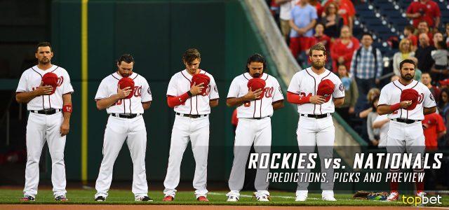 Colorado Rockies vs. Washington Nationals Predictions, Picks and MLB Preview – July 28, 2017