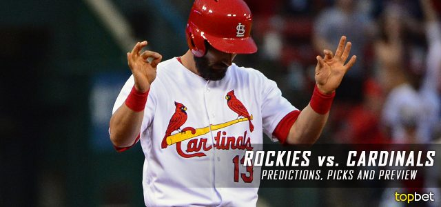 Colorado Rockies vs. St. Louis Cardinals Predictions, Picks and MLB Preview – July 24, 2017