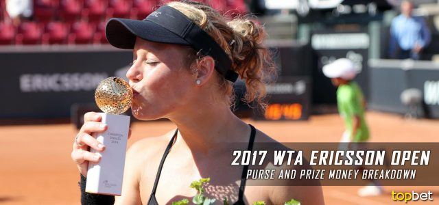 2017 WTA Ericsson Open Purse and Prize Money Breakdown