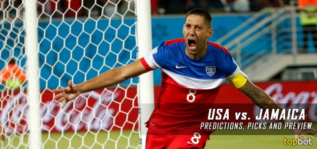 USA vs. Jamaica Predictions, Picks, Odds and Betting Preview – 2017 CONCACAF Gold Cup Final