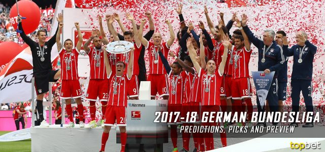2017-18 German Bundesliga Predictions, Odds, Picks and Preview