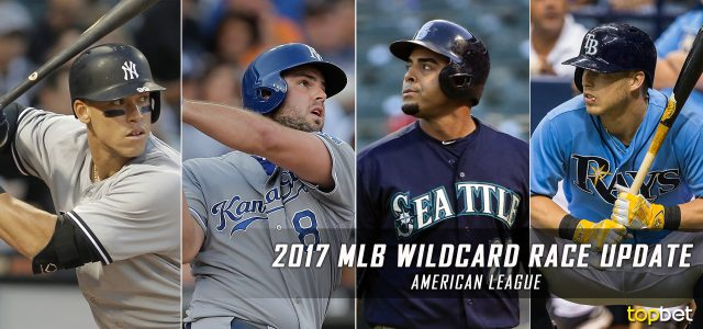2017 MLB American League Wild Card Race Update