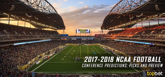 2018 college football conferences predictions