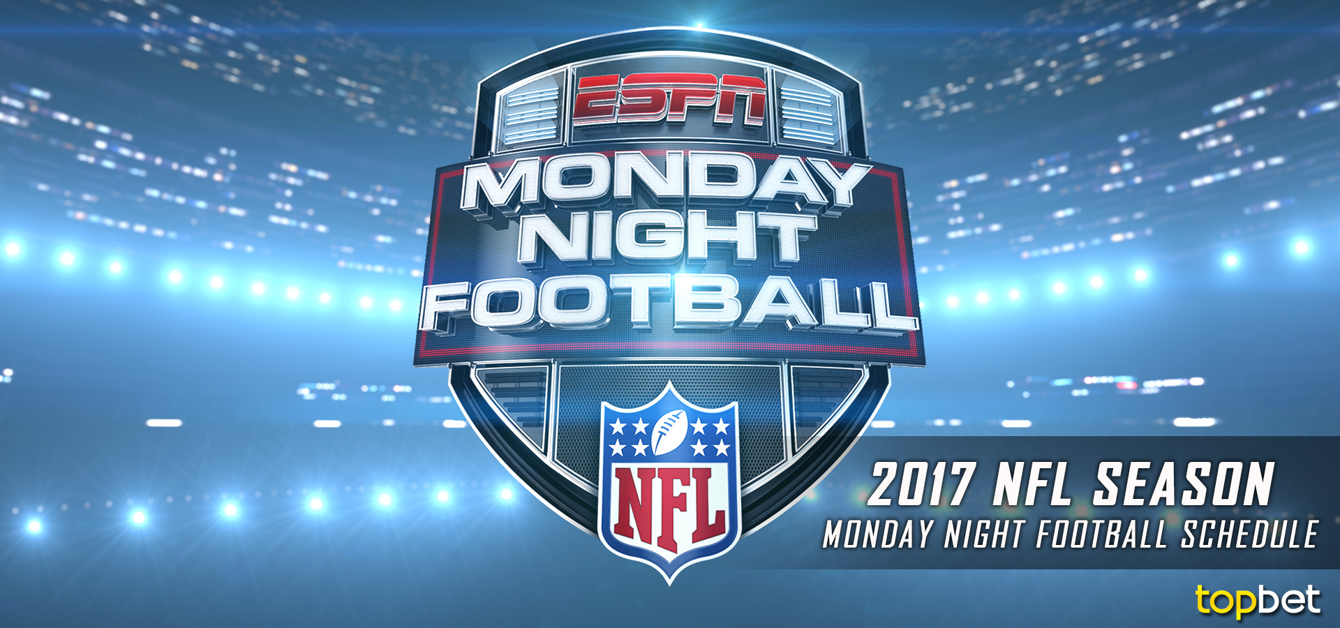 2017 NFL Monday Night Football Schedule