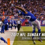 2017 NFL Sunday Night Football Schedule, Picks and Predictions