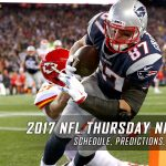 2017 NFL Thursday Night Football Schedule, Picks and Predictions
